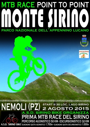 Gara di Mountain Bike sul Monte Sirino