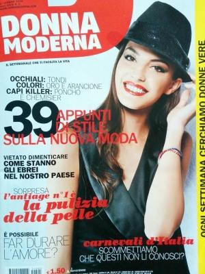 Carnevale di Satriano su Donna Moderna in tutte le edicole d'Italia