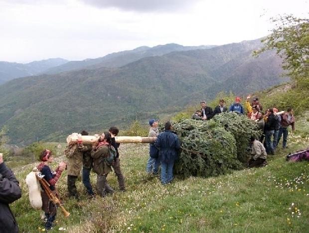 """Festa della """"Pita"""" a Terranova di Pollino"""