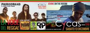 Una notte reggae. Il 13 Dicembre al Cycas di Tito Scalo