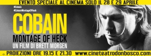 Documentario su Kurt Cobain al don Bosco 28 e 29 aprile