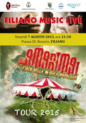 Filiano Music Live 2015