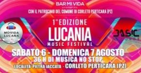 Lucania Music Festival, 36 ore di musica no-stop a Corleto Perticara